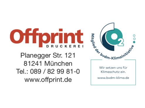 Logo Druckerei Offprint München