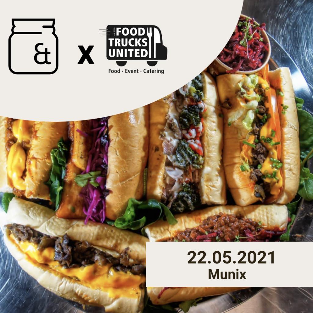 Munix Food Trucks bei Nebenan & Unverpackt am 22. Mai 2021